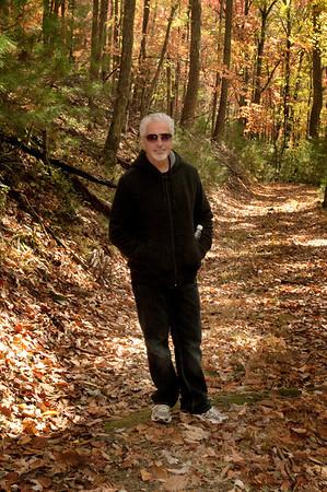 Pat on Grassy Gap Fire Road