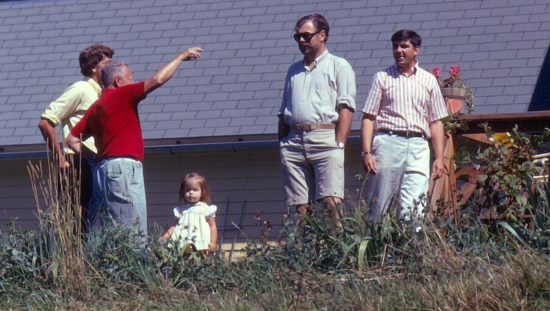 Tom III, Jim, Betsy Ludwin, Monty and Bill