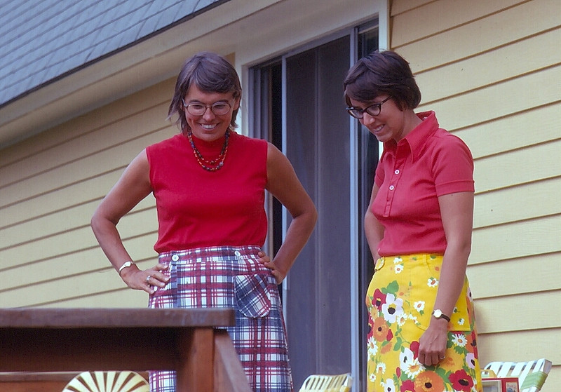 Nancy Lewis and Penny Ludwin