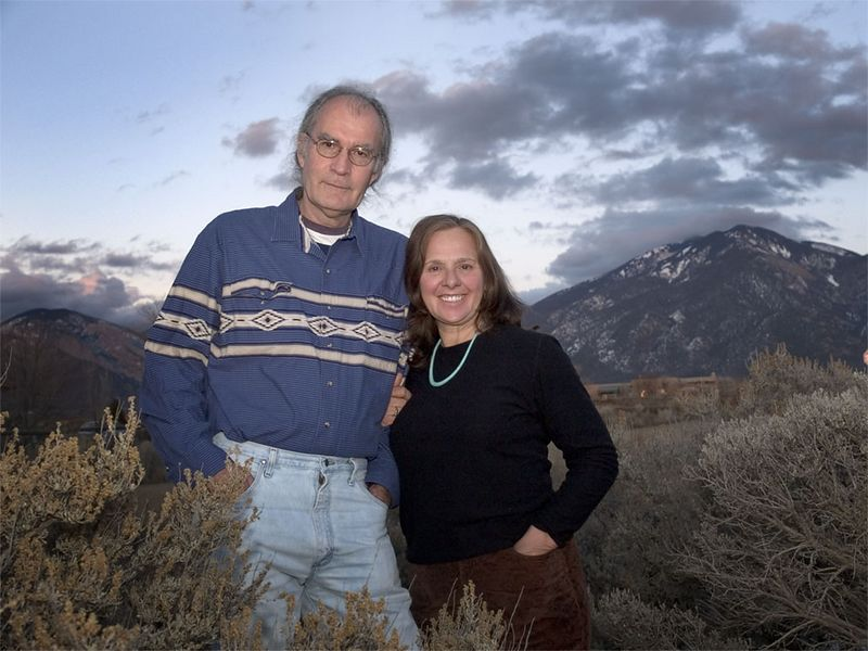 George & Grace Schaub, Taos, NM.
