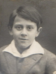 Georges Vaulot junior circa 1928
