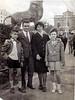 Rosario y Ángel en Barcelona con sus hijos