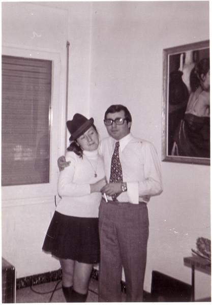 Carmen Vázquez y Luis Carrasco