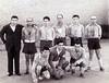 Ángel Vázquez en el equipo de fútbol de la cárcel