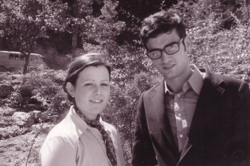 Julio Vázquez y su mujer Elena