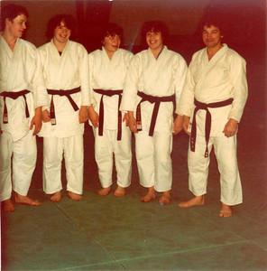 Mr Martin et ses 5 ceintures noires