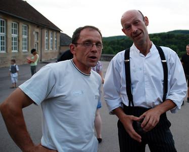 François & Luc (juillet 2009)