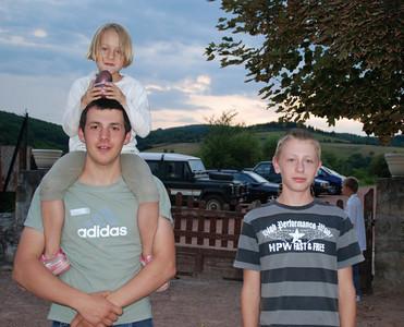 Les cousins (Cédric; Capucine & Augustin): Juillet 2009
