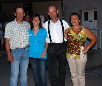 Juillet 2009: fête à Chissey pour célébrer les 40 ans de Christine