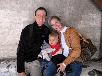 Au cours de la visite du Chateau de Chillon
