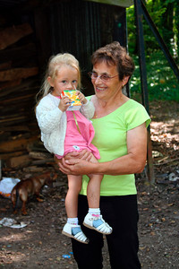 Maman & sa petite fille Capucine ( 2005)