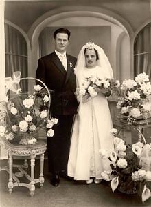 Mariage des parents (Nov 1961)