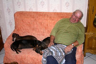 Papa fait la sieste