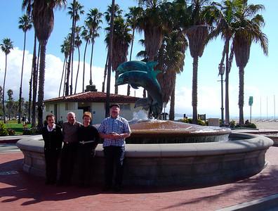 Les celebres dauphins de Santa Barbara