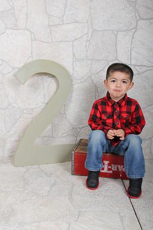 Aaron 2 years old