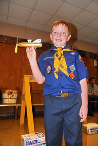 Jacob and his space rocket..........finished 3rd overall.