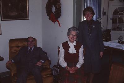 With Dennis and Doris