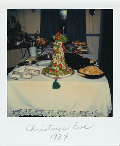 Christmas Eve again--1984.   (Turned out to be our last one in Delaware)