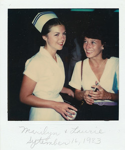 Marilyn and Laurie--September 1983
