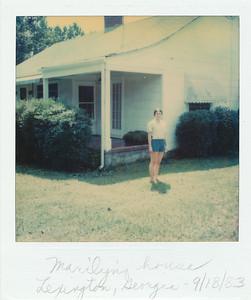 Marilyn's house in Lexington, Georgia