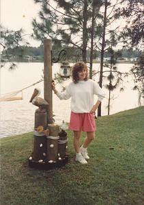 Marilyn in Florida--Thanksgiving 1990
