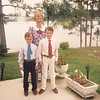 Big boys--flew down on their own--Easter 1989
