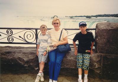 At Niagara Falls--June 1990