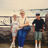 At Niagara Falls--June 1990