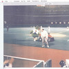 Jim and the Phanatic leaving the field--(when??)