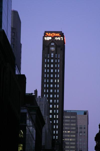 NYC new camera, Friday and Saturday 104