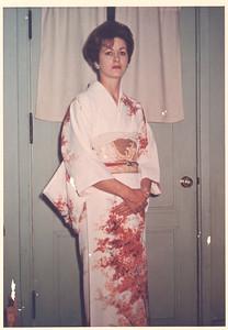 Virgie Wearing Her Maid's Kimono