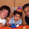 Elias, Nicky, and Chris (Daddy)