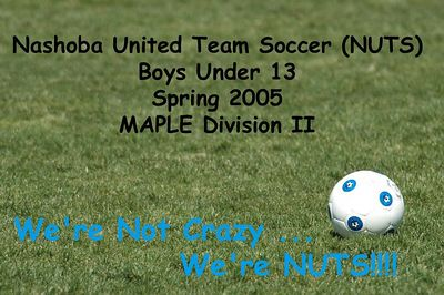 Nashoba United Team Soccer (NUTS) 2005