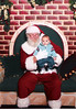 Thomas' first Chrsitmas. hangin' with Santa