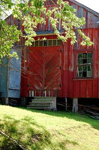 red back door