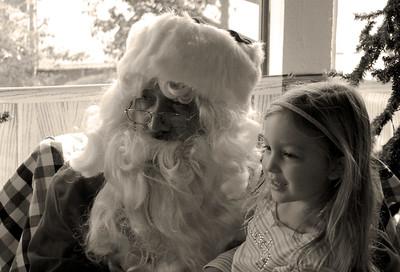 CC and Santa