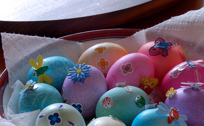 Decorated eggs 01