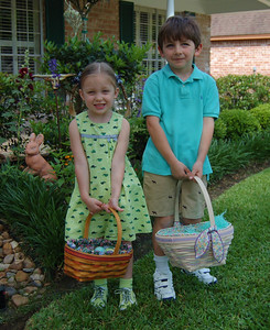 Patrick and CC at easter