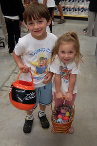 At the HEB Easter Egg Hunt