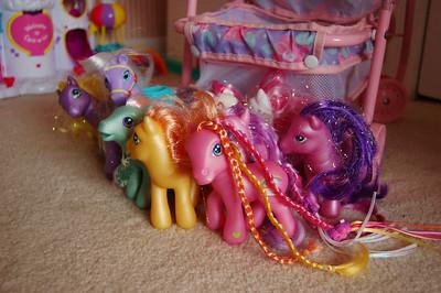 herding ponies