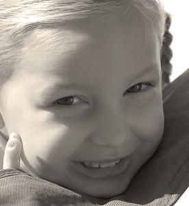 CC smiles in the sun