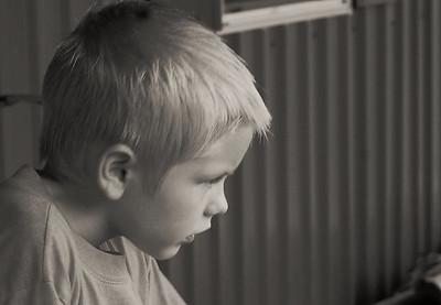 Jack contemplates