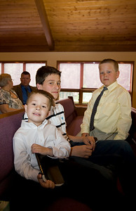 Nathaniel, Alex and Caden