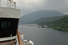 Coming into Ketchikan Port, Alaska the southernmost tip of the Inside Passage