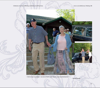 Jane & Cliff Ives 50th Anniversary Photobook