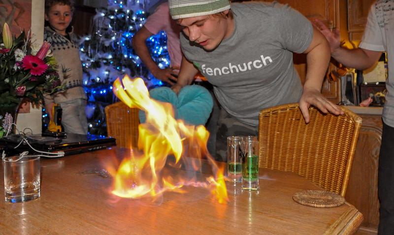 Rhys & the Absinthe Fire