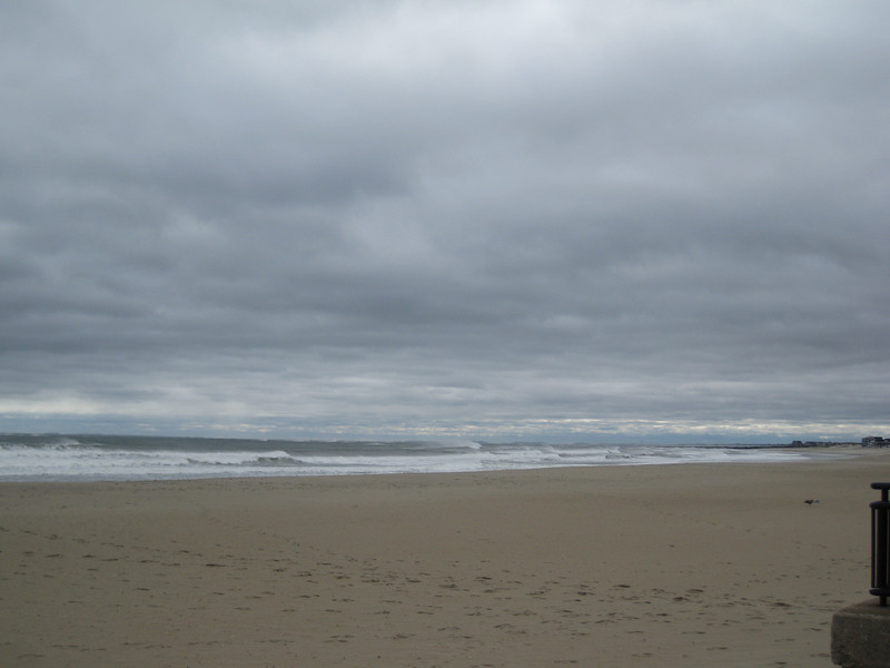 It was cold & windy for our Mother/Daughter weekend but the waves were beautiful!