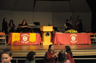 CHS 2011 National Honor Society Ceremony