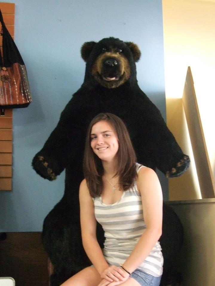 DSCF9276 Kristin and bear by Brian