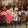 Dec 26 lunch with Lawrence, LuLu, Beth, Blake, Robb, Serena, Braden, Evalyn, Ginger, and Toby.
